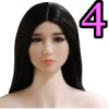 Wig 04: Long Black Straight