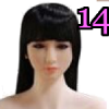 Wig 14: Long Black Fringe