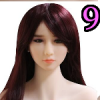 Wig 09: Long Purple Straight